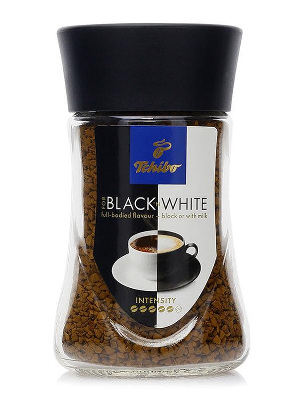 Tchibo Black & White Instant Coffee, 50g