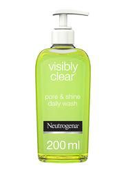 Neutrogena Visibly Clear Pore & Shine Facial Wash, 200ml