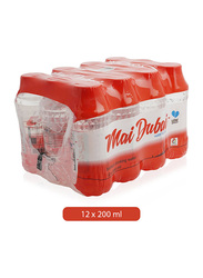 Mai Dubai Low Sodium Mineral Water, 12 Bottles x 200ml