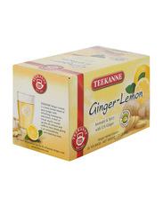 Teekanne Ginger & Lemon Herbal Infusion Tea, 20 Tea Bags x 1.75g