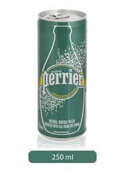 Perrier Natural Mineral Water Slim Can, 250ml