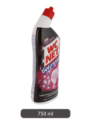 WC Net Pink Flowers Gelcrystal Toilet Cleaner, 750ml