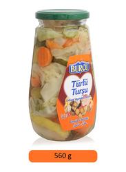 Burcu Mixed Vegetables Pickles, 560g