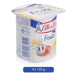 Elle & Vire Mango Flavor Yogurt, 125 g