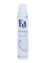 Fa Whitening and Care Deodorant Body Spray for Men, 200 ml