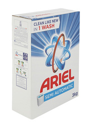 Ariel Laundry Original Scent Powder Detergent, 1 Piece, 3 Kg