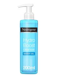 Neutrogena Hydro Boost Cleansing Water Gel, Normal to Dry Skin, 200ml