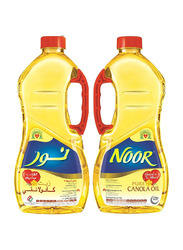 Noor Pure Canola Oil, 2 Bottles x 1.8 Liters