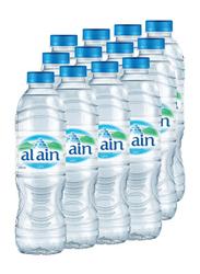 Al Ain Mineral Drinking Water, 12 Bottles x 500ml