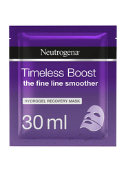 Neutrogena Timeless Boost Hydrogel Recovery Face Mask, 30ml