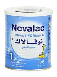Novalac Stage 1 Infant Formula Milk, 0-6 Months, 400g