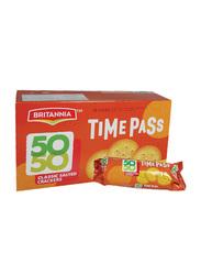 Britannia 50-50 Time Pass Biscuits, 12 x 40g