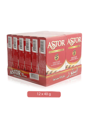Astor Wonderful Sensation Chocolate Crumbly Roll, 12 x 40g