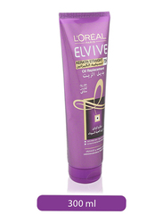L'Oreal Paris Elvive Oil Replacement Keratin Smooth Straight Hair Cream for All Hair Types, 300ml