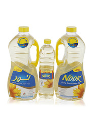 Noor Sunflower Oil Set, 3.6 Liter + 750ml