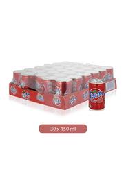 Fanta Strawberry Soft Drink, 30 Cans x 150ml