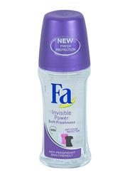 Fa Invisible Power Deodorant Roll On, 50 ml