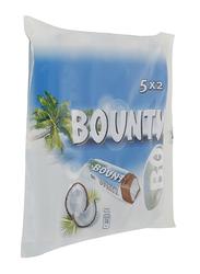Bounty Milk Chocolate Bars, 5 Pieces x 57g