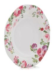 Superware 25-inch Ashley Ceramic Round Plate, Multicolor