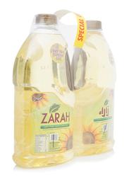Zarah Pure Sunflower Oil, 2 Bottles x 1.8 Liter