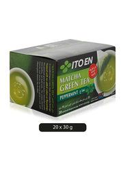 Ito En Matcha Peppermint Green Tea, 20 Tea Bags x 3g