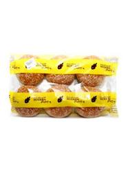 Modern Bakery 4-inch Sesame Bread Bun, 6 Pieces