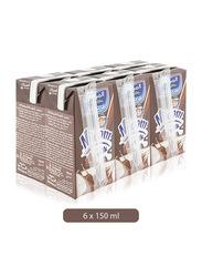 Al-Marai Nijom Chocolate Milk, 6 Tins x 150ml