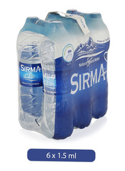 Sirma Natural Mineral Water, 6 Bottles x 1.5 Liter