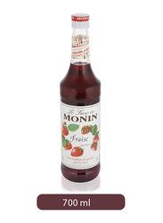 Monin Strawberry Syrup Bottle, 700ml