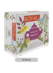 Royal Regime Herbal Tea, 50 Tea Bags x 2g