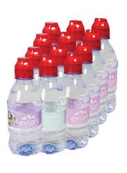 Evian Kids Mineral Water, 12 Bottles x 330ml