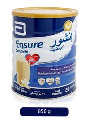 Abbott Ensure Complete Vanilla Flavor Formulated Milk, 850g