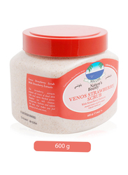 Nature's Bounty Venos Strawberry Scrub For Face & Body, 600ml