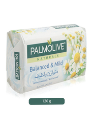 Palmolive Naturals Balanced & Mild Soap Bar, 120g