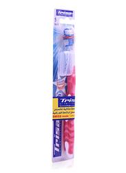Trisa Cool & Fresh Toothbrush, Red/White, Soft