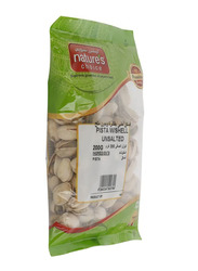 Nature's Choice Unsalted Pistachios with Shell, 1 Piece x 200g