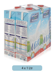 Al-Marai Low Fat Milk, 4 Tins x 1 Liter