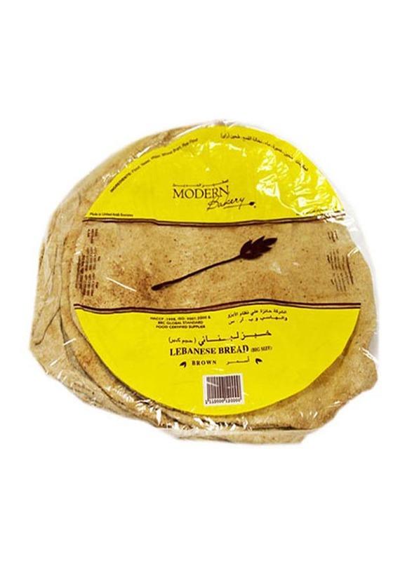 Modern Bakery Big Flat Brown Arabic Bread