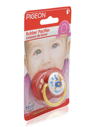 Pigeon Cherry Rubber Pacifier, 3+ Months, Red