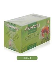 Alokozay Mint Tea, 25 Tea Bags x 2g