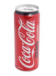 Coca Cola Zero Calories Soft Drink, 330ml