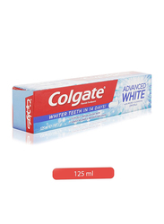 Colgate Fluoride Toothpaste Advance White with Micro Cleansing Crystals, 125ml