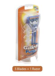 Gillette Fusion Razor for Men, Multi Color, 1 Piece