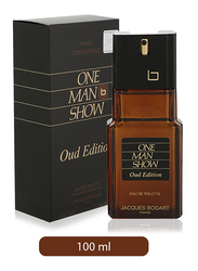 Jacques Bogart One Man Show Oud Edition Natural Spray 100ml EDT for Men