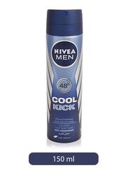 Nivea Men Cool Kick Anti-Perspirant Deodorant Spray, 150ml