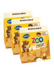 Bahlsen Leibniz Zoo Bears & Bees Milk Biscuits, 3 Packets x 100g