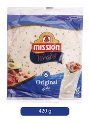 Mission Wraps Tortillas, 420g