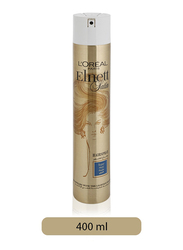 L'Oreal Paris Elnett Satin Super Hold Hair Spray for All Hair Types, 400ml
