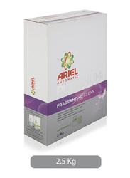 Ariel Automatic Platinum Fragrant HD Clean Laundry Powder Detergent, 2.5 kg