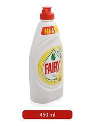 Fairy Lemon Liquid Dishwashing Liquid Soap, 450ml